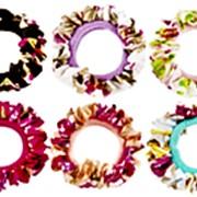 Резинка 474309 BBox LT 4743 тканая для волос d=7 см цветной микс в уп.~100 шт. ( цена за 1 шт.) фото