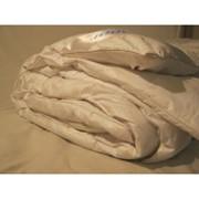 Одеяло бамбуковое в тике Снежная зима 400 г фото