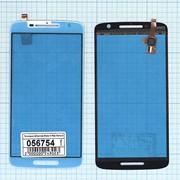 Сенсорное стекло (тачскрин) для Motorola Moto X Play белое, Диагональ 5.5, 1920x1080 (Full HD) фото