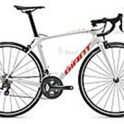 Велосипед Giant TCR Advanced 3 (2020) Белый 18 ростовка фото