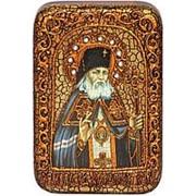 Олд Модерн Лука Крымский, святитель, копия писанной иконы ручной работы под старину Высота иконы 15 см фото