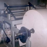 Бабинорезка, одновальная схема намотки с прикатным валом фото