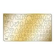 Freedecor, Металлизированные наклейки №195, золото фото