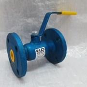 Кран стальной шаровой LD Ду 25 Ру 40 для газа резьба, с рукояткой фото