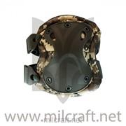 Комплект тактические Наколенники и Налокотники 9 mm tactical gear perfection, цвет ACU фото