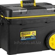 Ящик-тележка STAYER PROFESSIONAL пластиковая для инструмента, 620х370х420 мм фото