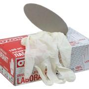 Перчатки медицинские латексные Лаборант®-латекс фото