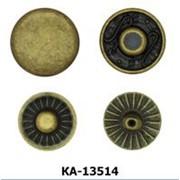Кнопка Альфа 13,5мм, Код: КА-13514 фото