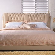 Кожаная кровать Серджио фото