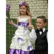 Детское платье Фиалка фото