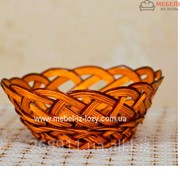 Хлебница плетеная овальная Универсал Код: Арт 046-5 фото
