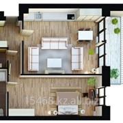 Квартира двухкомнатная фото