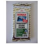 Салфетки для ухода за пластиком SONAX (25шт.) фото