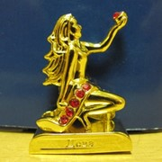 Водолей золотой -фигурка со стразами -Знаки зодиака, арт. 3909 фото