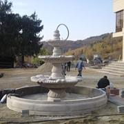 Строительство фонтанов, водоемов, прудов, каскадов фото