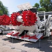 Комбайн проходческий КПА для разрушения горного массива, уборки и транспортирования разрушенной горной массы при проходке подготовительных выработок прямоугольной формы сечением от 13,5 до 21 м2 с углом наклона ±12º фото