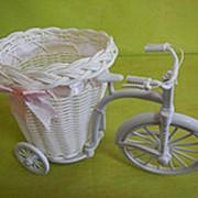Велосипед большой кашпо пластик фото