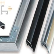 Профили алюминиевые багетные для вывесок и рекламных конструкций фото