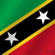 Флаг национальный Сен-Китс и Невис фото