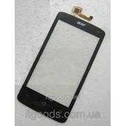 Тачскрин оригинальный / сенсор (сенсорное стекло) для Acer Liquid Z4 Duo Z160 (черный цвет) 3378-1 фото