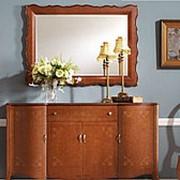 Зеркало настенное Panamar орех 135х80х3см. арт.316.135P фото