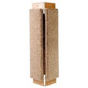 Когтеточка угловая ковровая 65*13 см фото