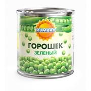 Горошек зеленый консервированный КАМАКО фото