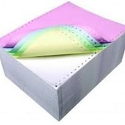 Печать на самокопирующей бумаге (бланки,чеки и т.д.) фото