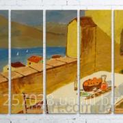 Модульна картина на полотні Живопис. Морський пейзаж код КМ100150(150)-038 фото
