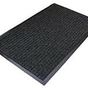 Коврик Sindbad влаговпитывающий ребристый 50*80см Т202/5 темно-серый /20 (шт.) фото