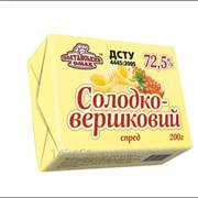 Спред солодковершковий 72,5% фото