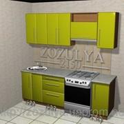 Кухни МДФ краска стандартные 2150 мм фото