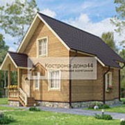 Проект Дом из бруса №41 9х6 фото