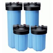 Монтаж системы фильтрации воды фото