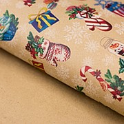 Подарочная упаковка крафтовая Праздник фото