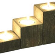 Подсвечник для 3-х свечей фото