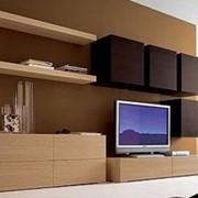 Стенка мебельная, вариант 7 фото