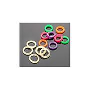 Резинки для крепления насадки Mikado 3 мм. (разноцветные, очень жесткие) уп.=50 шт. фото
