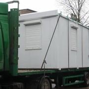 Бытовки передвижные, блок-контейнеры фото