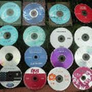 Полноцветное дублирование, печать на CD дисках фото