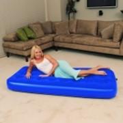 Односпальная надувная кровать фото