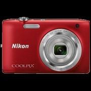 Фотоаппарат Nikon Coolpix S2800 красный фото