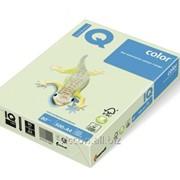 Бумага цветная iq color A4, 80г/м2, gn27-светло-зеленый 500л. GN27-80 фото