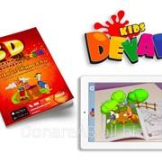 "3D сказка-раскраска ""Лиса и журавль"" фото"