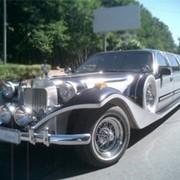 Аренда лимузина Excalibur Phantom Silver-Black King фото
