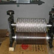 Комплектующие для оборудования по производству салфеток: барабаны, валы тиснения (металл), ответные валы тиснения (картон) фото