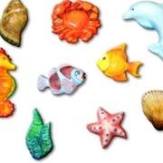 """Набор для детского творчества """"Подводный мир"""" (гипсовый барельеф) фото"""