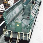 Вагон для перевозки отработанного ядерного топлива ТК-ВГ-18-2 фото
