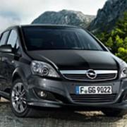 Автомобиль Opel Zafira фото