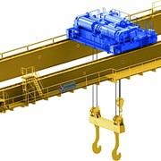 Кран козловой, мостовой, консольный, строительный гп 0,5-50т, пролет до 32м фото